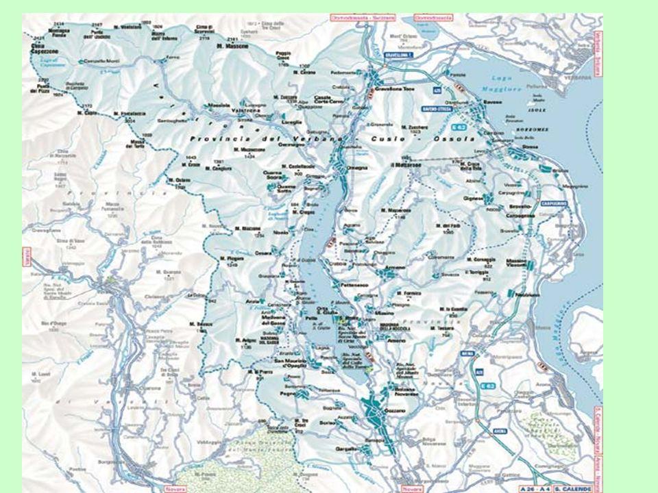 Cusio Cusio designa il Lago dOrta e la regione ad esso circostante La regione del Cusio conta 25 comuni ed è divisa tra NO e VCO (sdoppiamento amm.vo nel 1992) da una linea immaginaria che attraversa il lago.