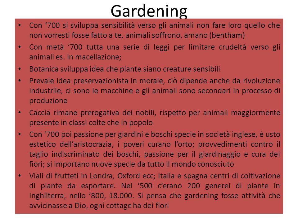 Gardening Con 700 si sviluppa sensibilità verso gli animali non fare loro quello che non vorresti fosse fatto a te, animali soffrono, amano (bentham)