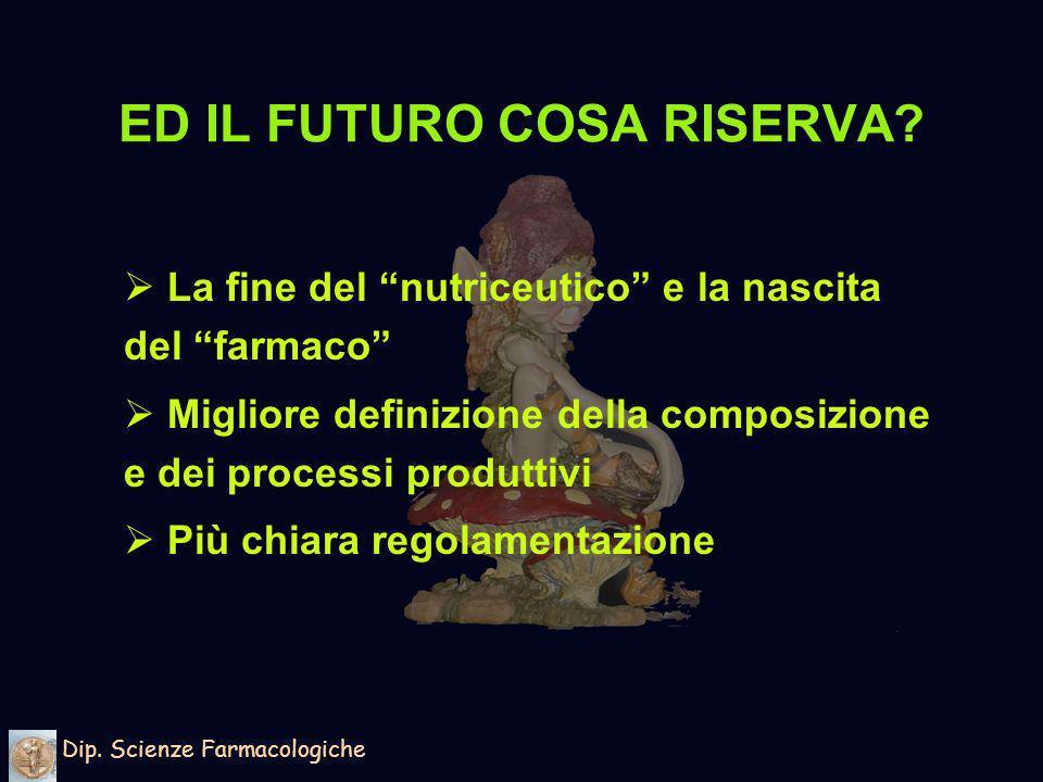 ED IL FUTURO COSA RISERVA.Dip.