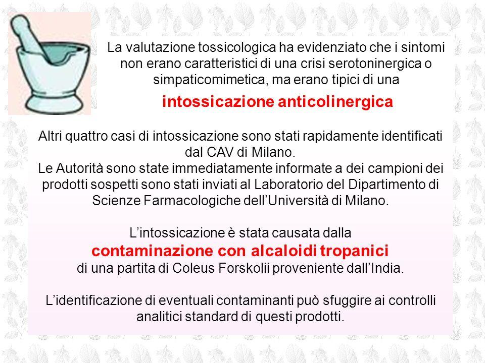 Altri quattro casi di intossicazione sono stati rapidamente identificati dal CAV di Milano. Le Autorità sono state immediatamente informate a dei camp