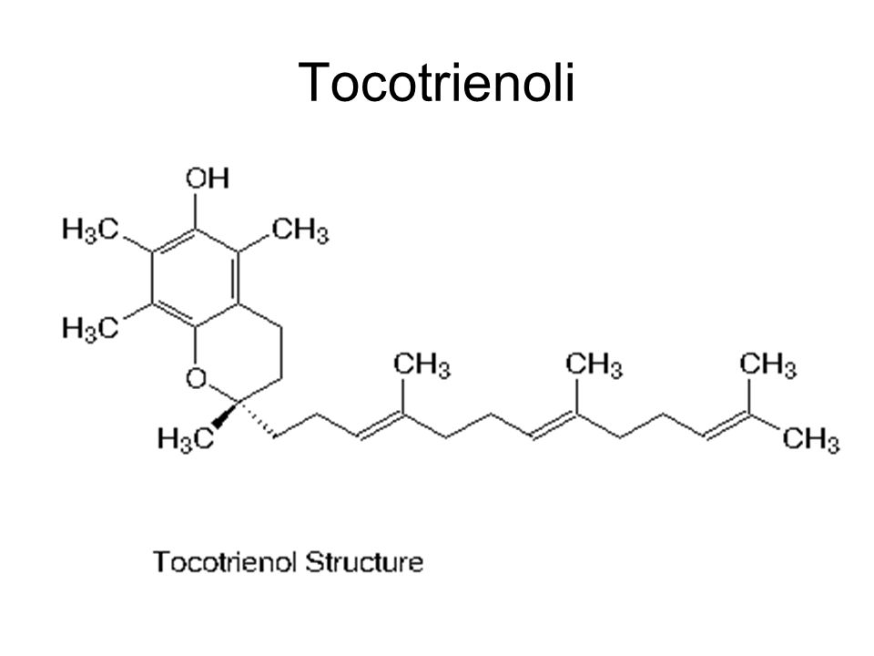 Tocotrienoli