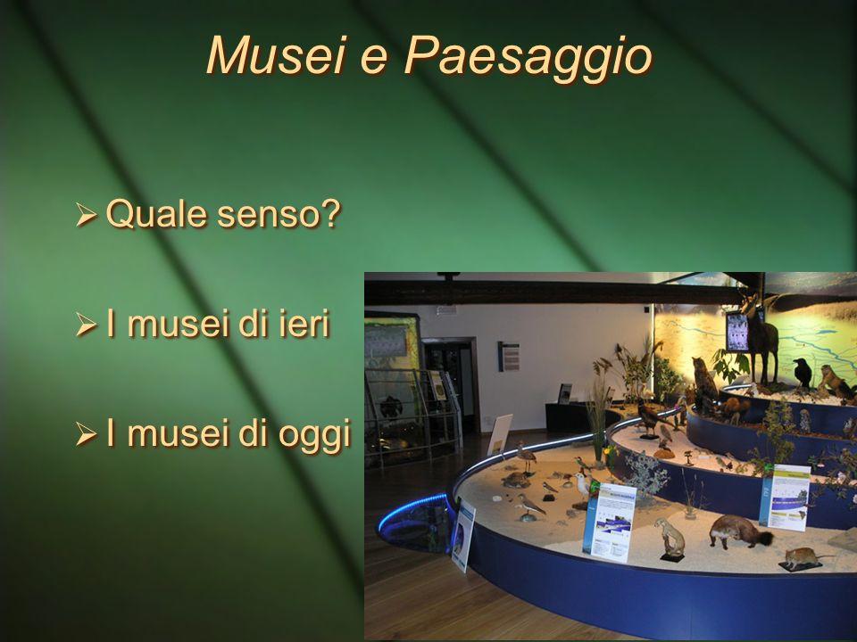 Tra scuola e museo: percorsi di educazione al paesaggio Monica Celi Museo di Storia Naturale ed Archeologia di Montebelluna TV Monica Celi Museo di St