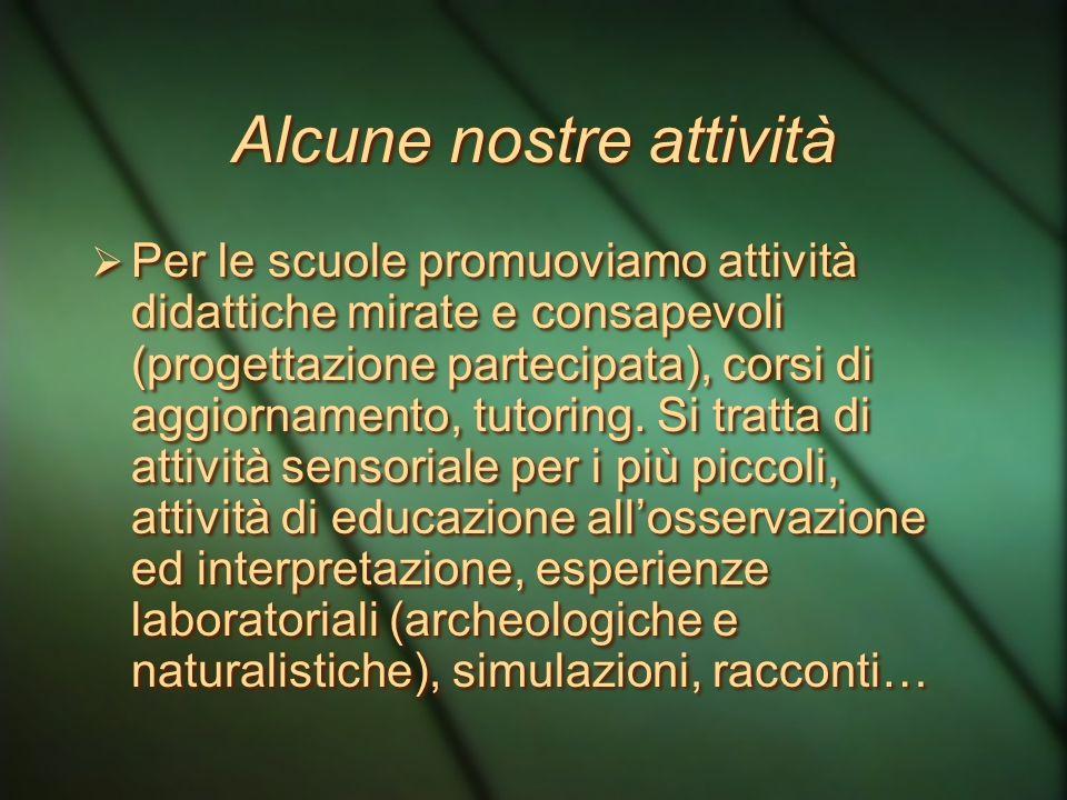 Educare alla conoscenza e all'uso consapevole del patrimonio paesaggistico significa costruire comportamenti in sintonia con il senso civico, unica ga