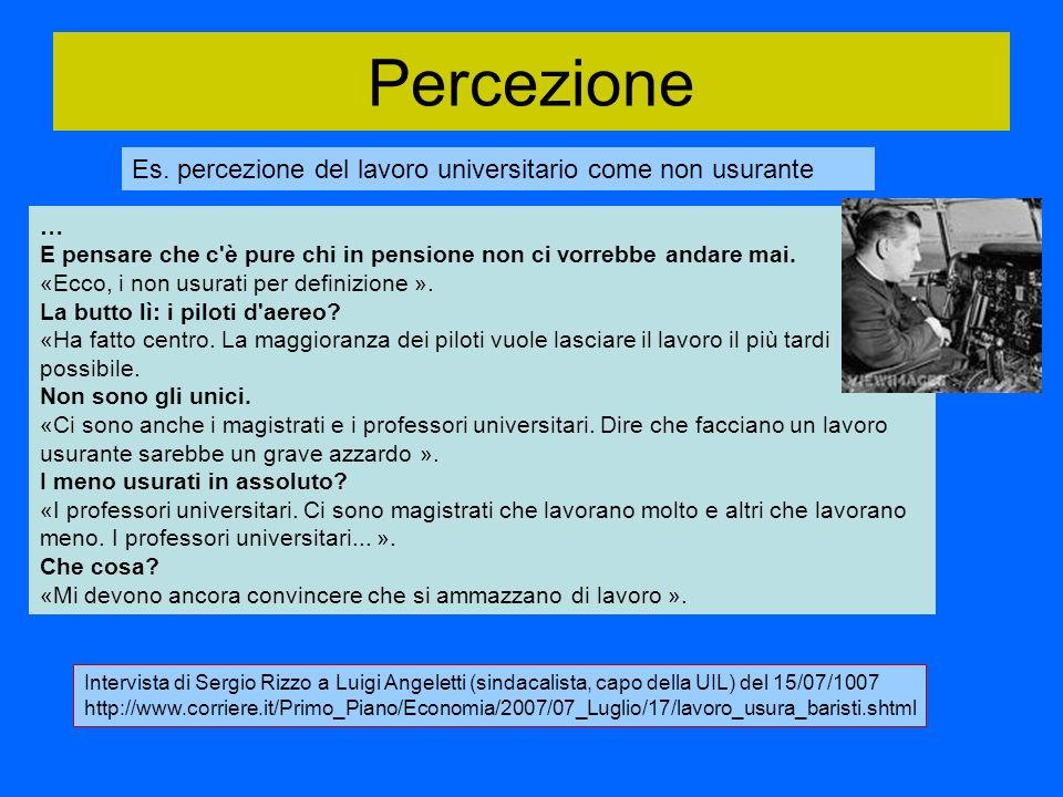 Percezione Es.