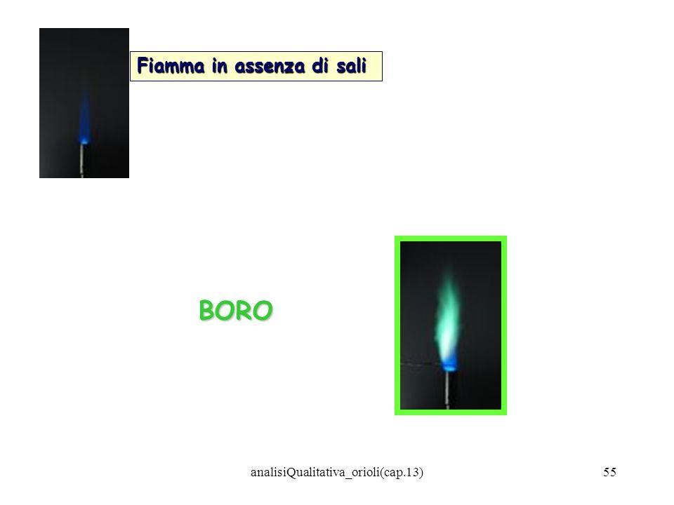analisiQualitativa_orioli(cap.13)55 BORO Fiamma in assenza di sali
