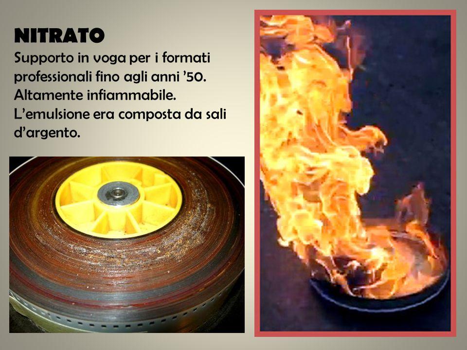 Viraggio: nel quale un sale metallico colorato si sostituisce allargento dellemulsione senza tingere la gelatina del film.
