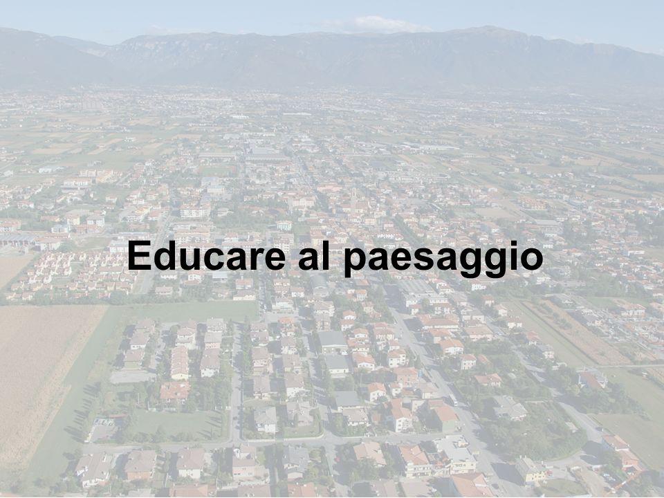 Educare al paesaggio