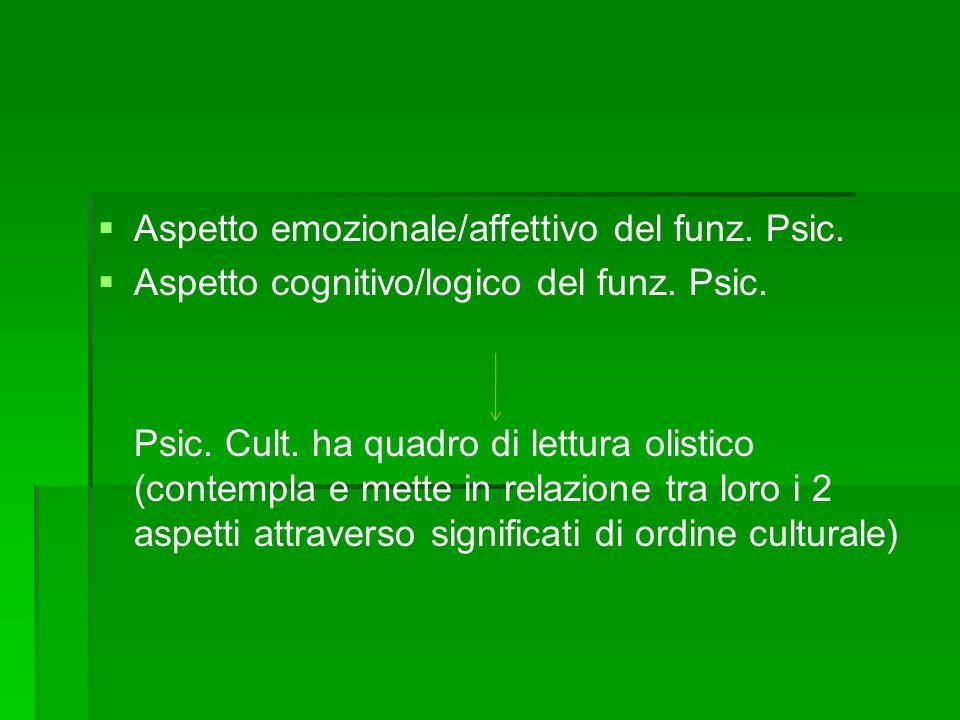 Modello olistico di osservazione della psicologia transculturale TRA PSIC.
