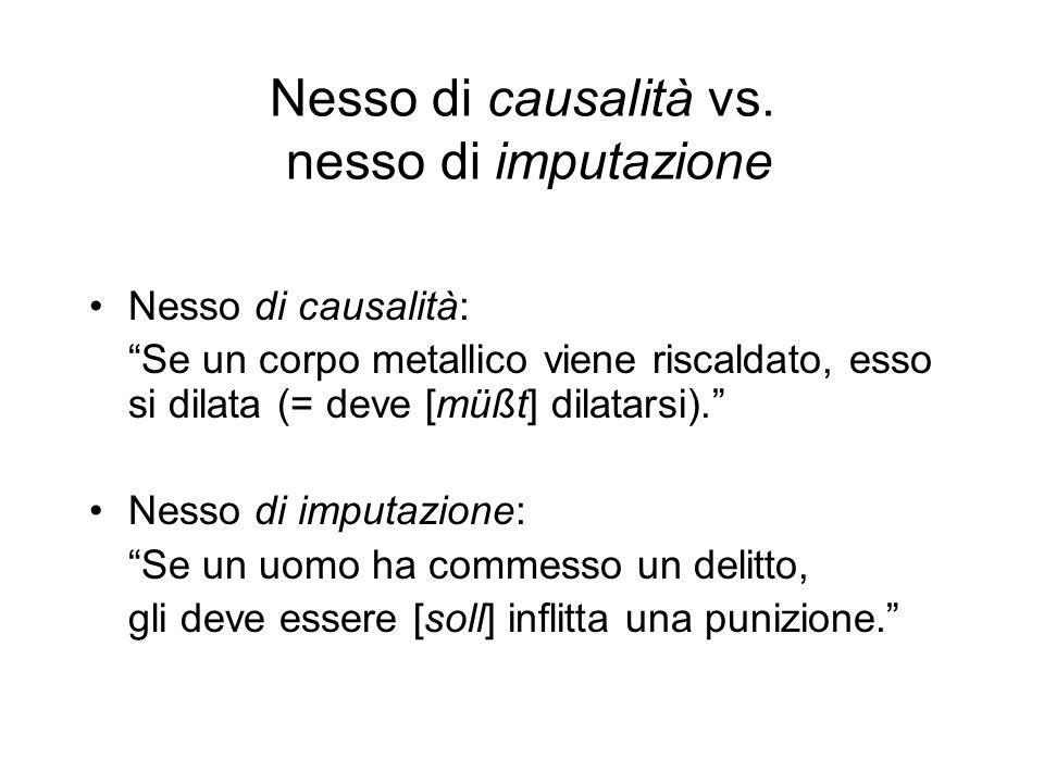 Nesso di causalità vs.