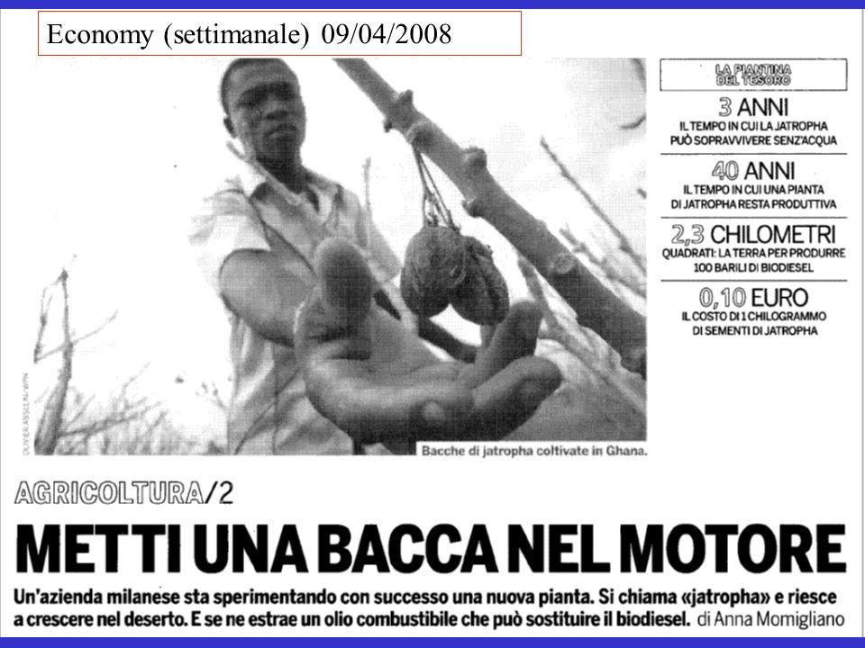 Economy (settimanale) 09/04/2008