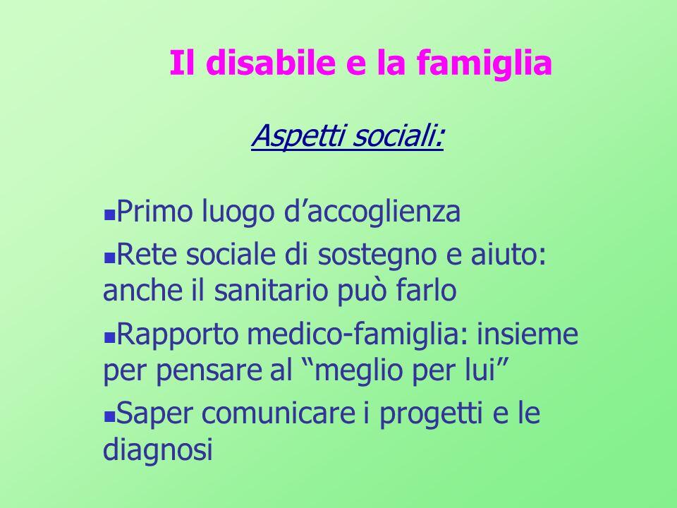 Il bambino disabile e lOspedale Il Ricovero in struttura protetta Quando e perché in ospedale Lospedale sa accogliere il bambino disabile e le sue esigenze.