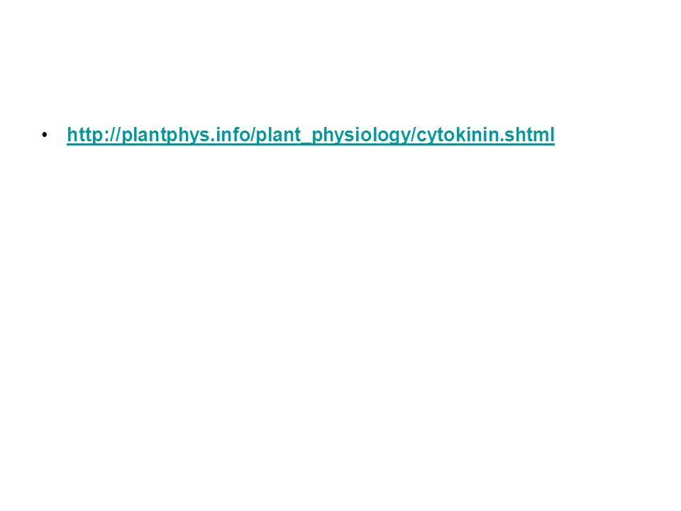 http://plantphys.info/plant_physiology/cytokinin.shtml