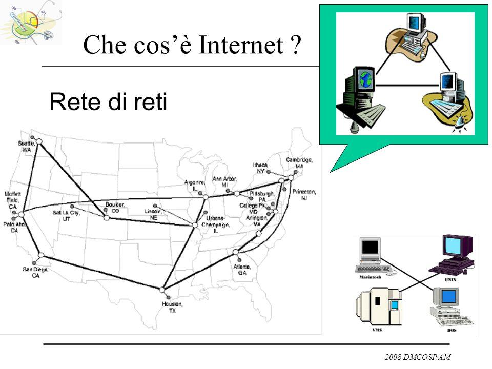 2008 DMCOSP.AM Che cosè Internet ? Rete di reti