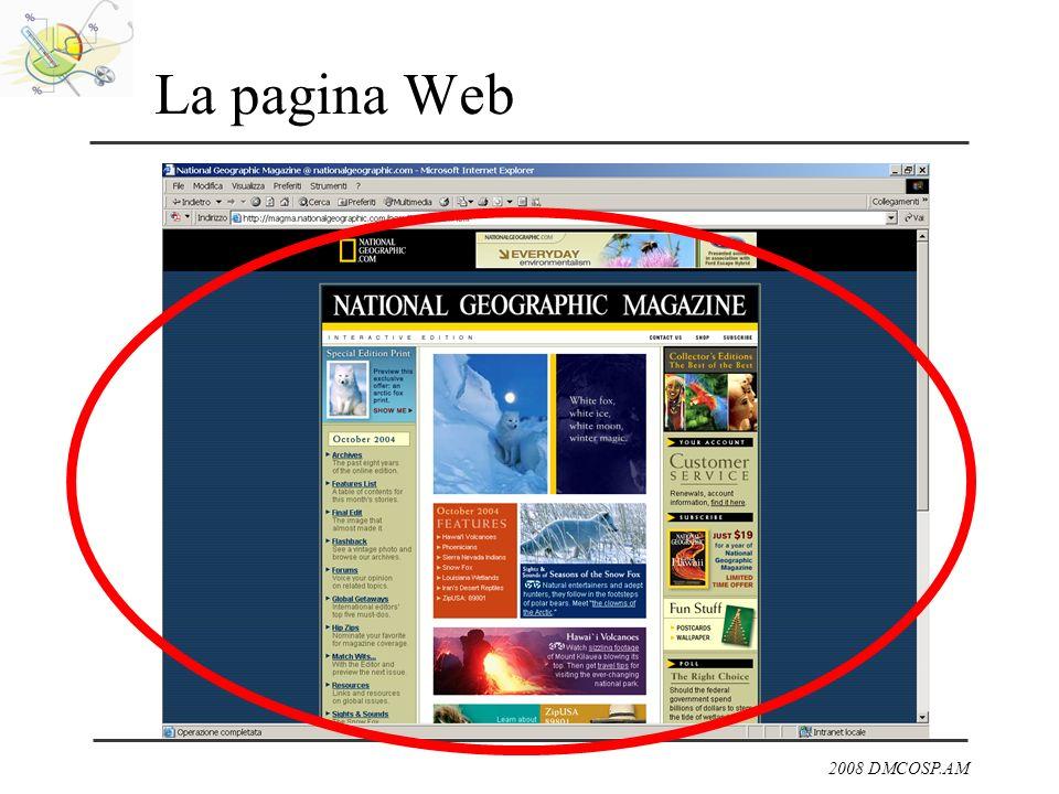 2008 DMCOSP.AM La pagina Web