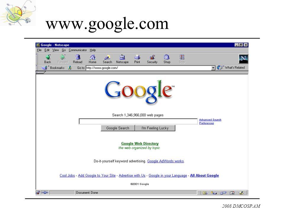 2008 DMCOSP.AM www.google.com