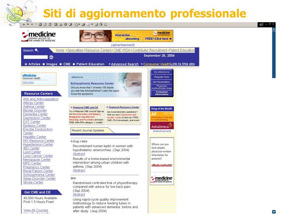 2008 DMCOSP.AM Siti di aggiornamento professionale