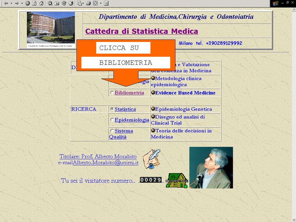 2008 DMCOSP.AM CLICCA SU BIBLIOMETRIA
