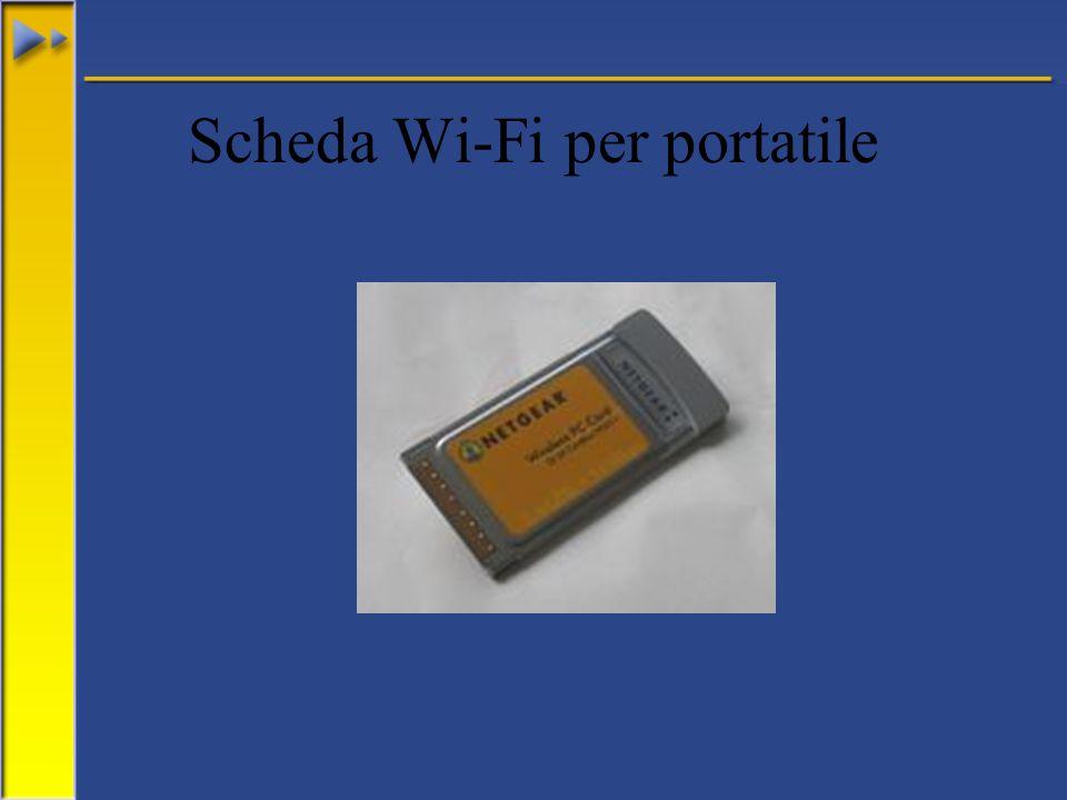 Scheda Wi-Fi per portatile