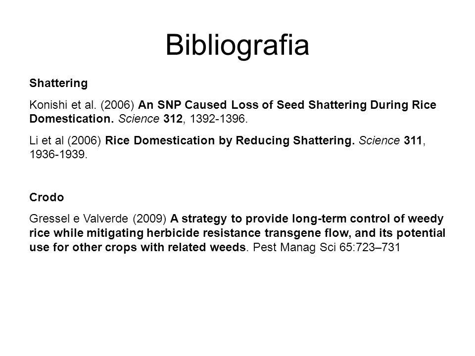 Bibliografia Shattering Konishi et al.