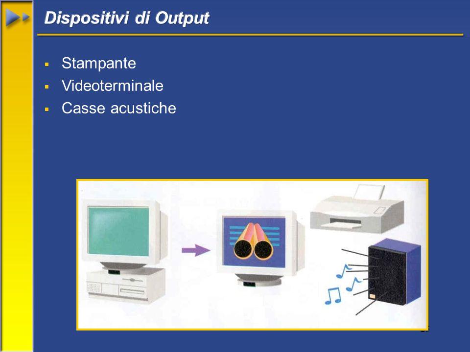25 Stampante Videoterminale Casse acustiche