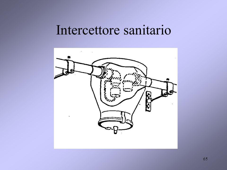 Intercettore sanitario 65