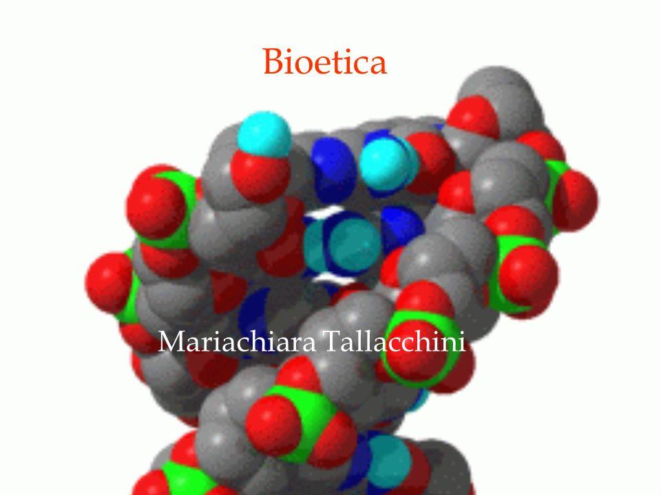 Bioetica Mariachiara Tallacchini
