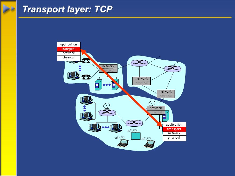 application transport network physical application transport network physical network physical network physical network physical network physical