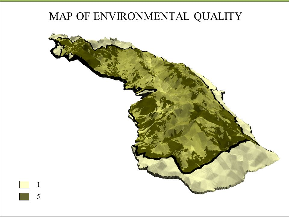 MAP OF ENVIRONMENTAL QUALITY 1 5