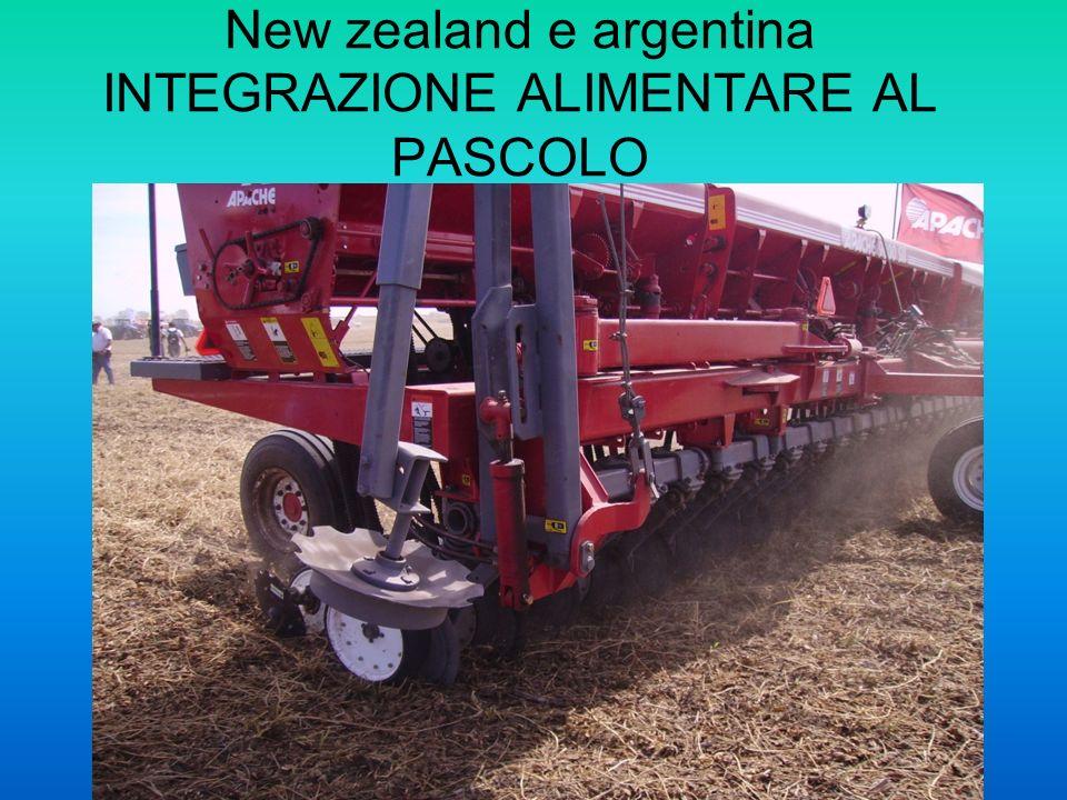 New zealand e argentina INTEGRAZIONE ALIMENTARE AL PASCOLO