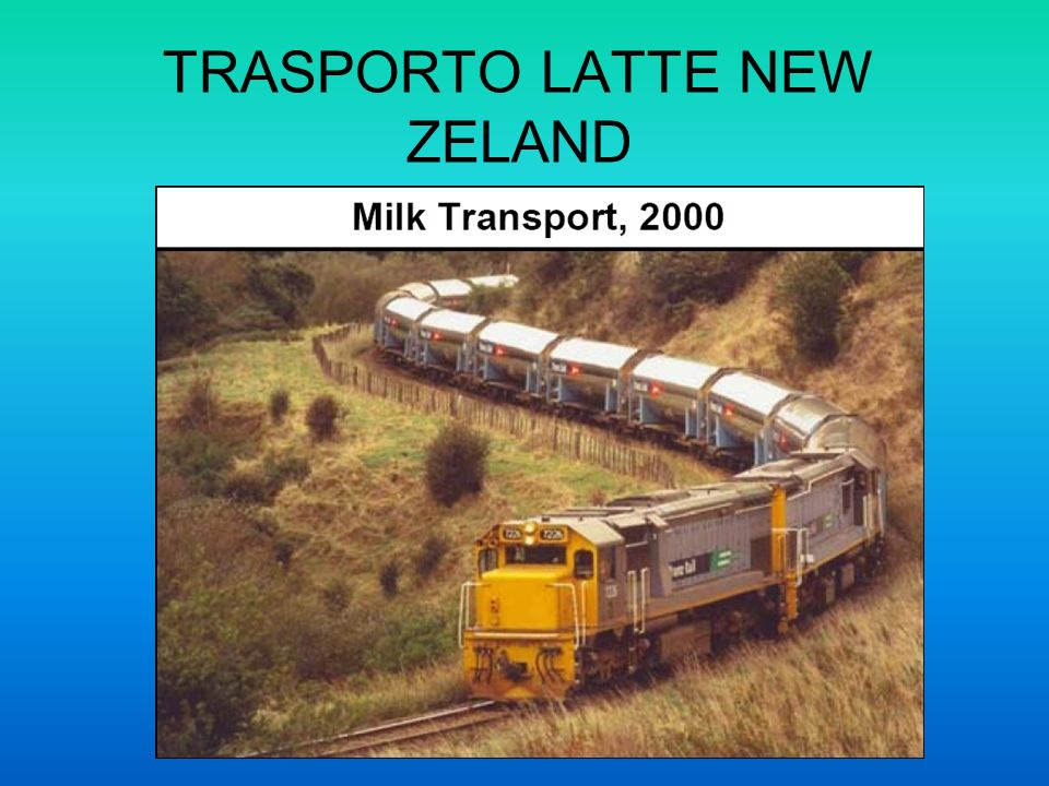 TRASPORTO LATTE NEW ZELAND
