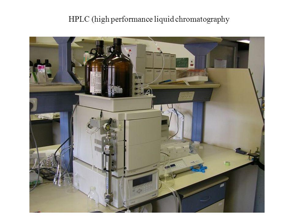 HPLC (high performance liquid chromatography