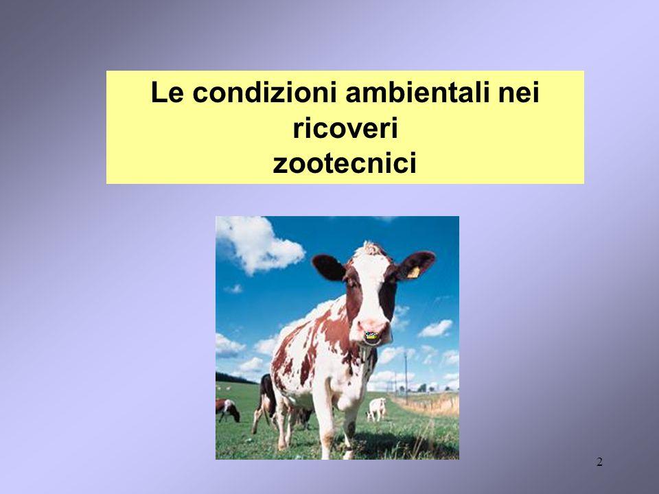 2 Le condizioni ambientali nei ricoveri zootecnici