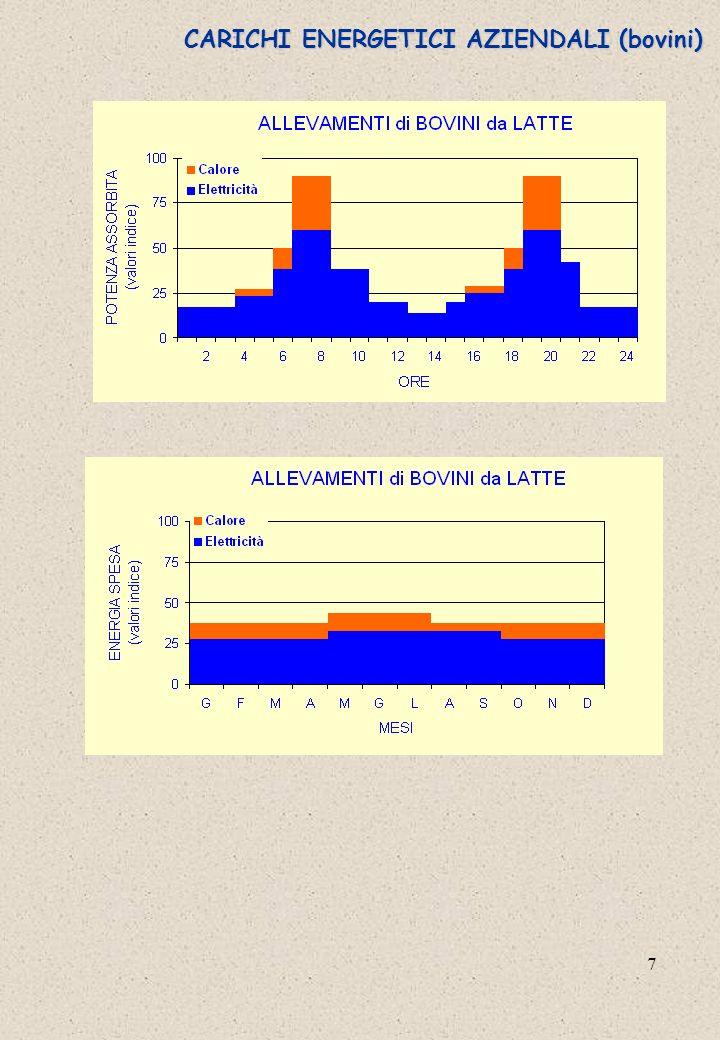 8 CARICHI ENERGETICI AZIENDALI (suini)