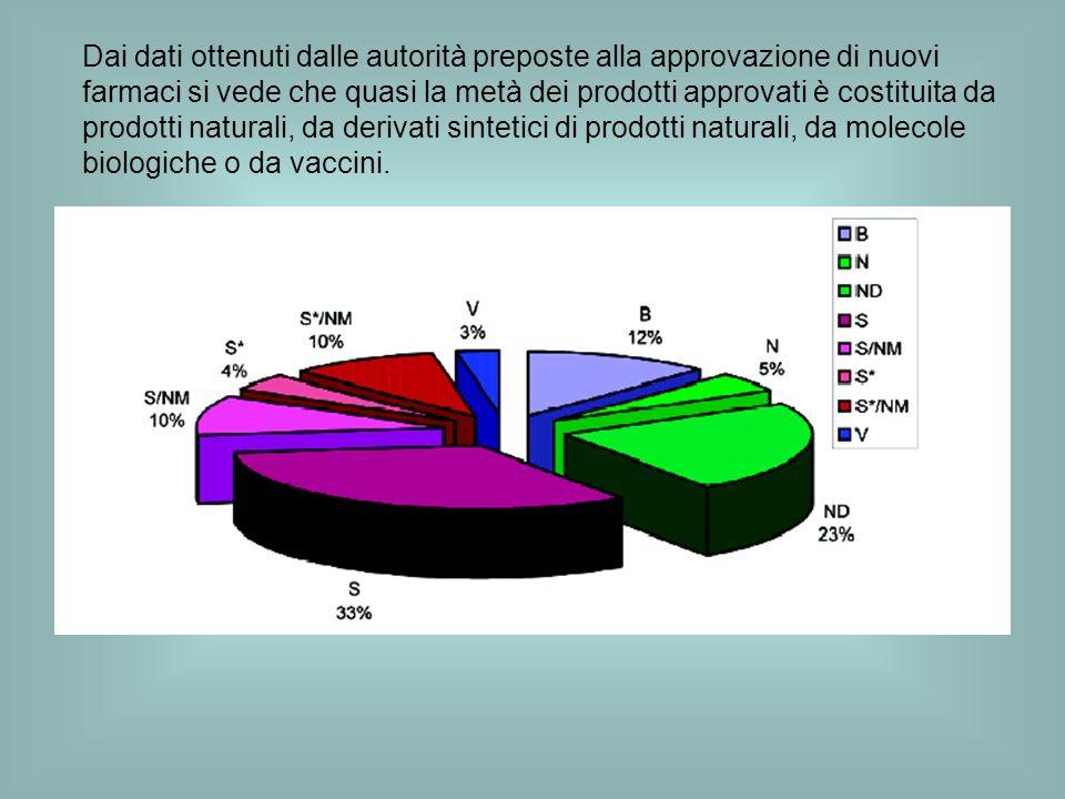 Nel campo degli antitumorali limportanza dei prodotti naturali è ancora più marcata.