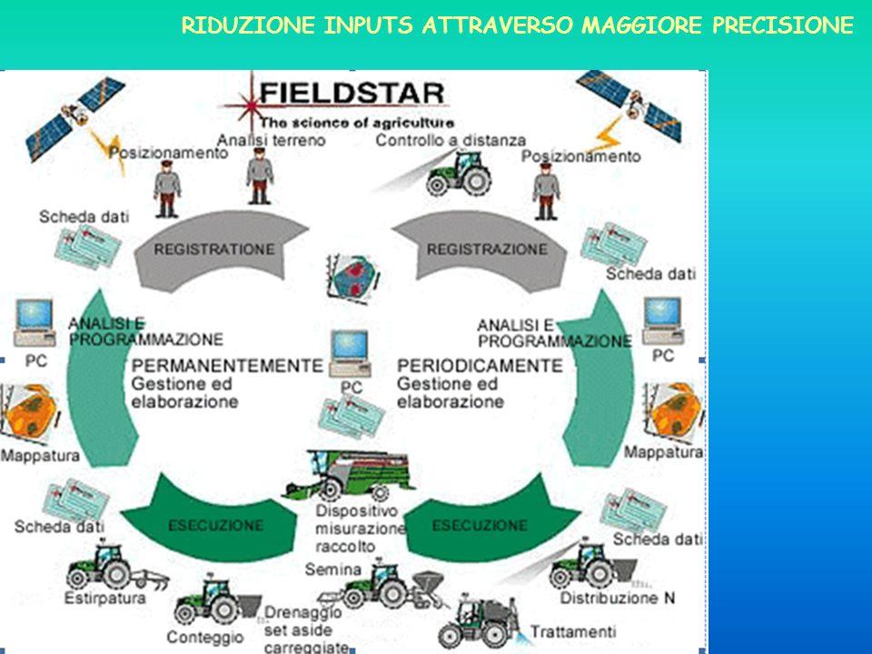 RIDUZIONE INPUTS ATTRAVERSO MAGGIORE PRECISIONE