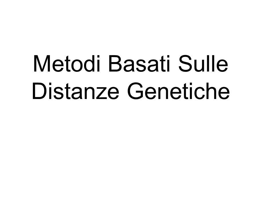 Metodi Basati Sulle Distanze Genetiche
