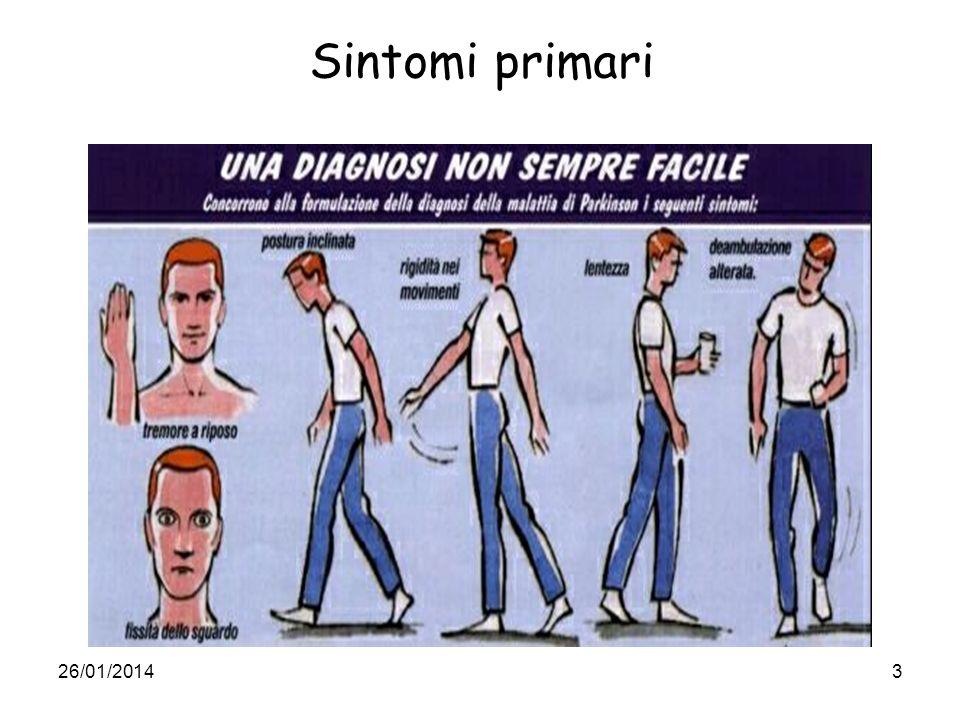 26/01/20144 Sintomi secondari