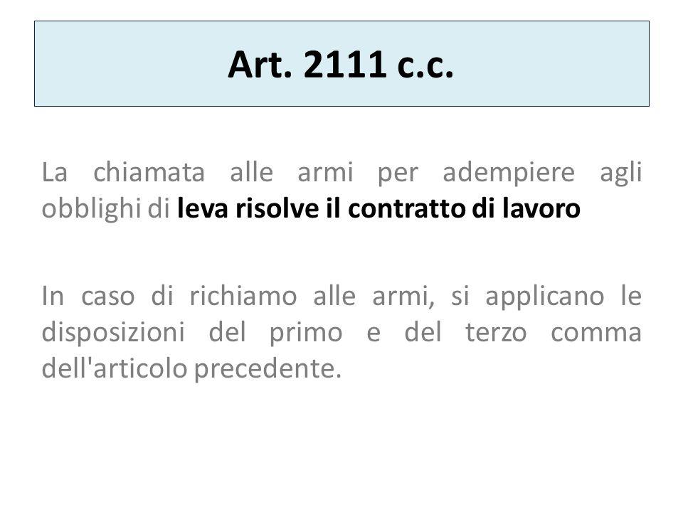 Art.2111 c.c.