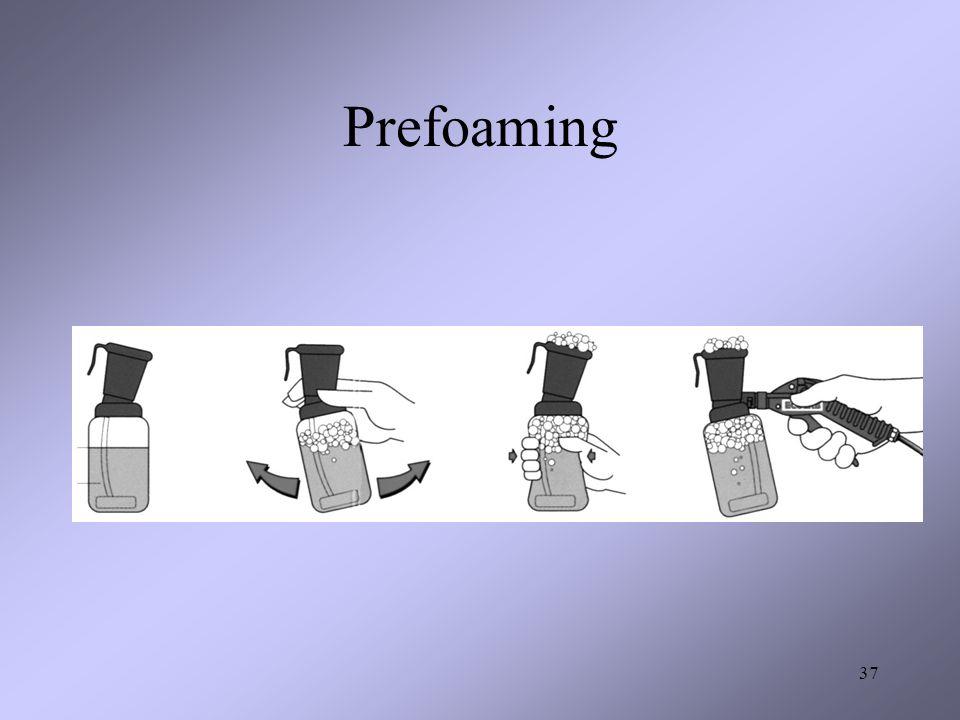 Prefoaming 37