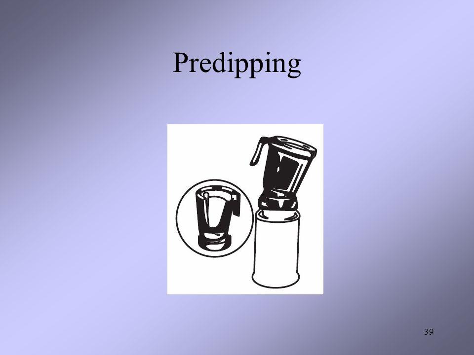Predipping 39
