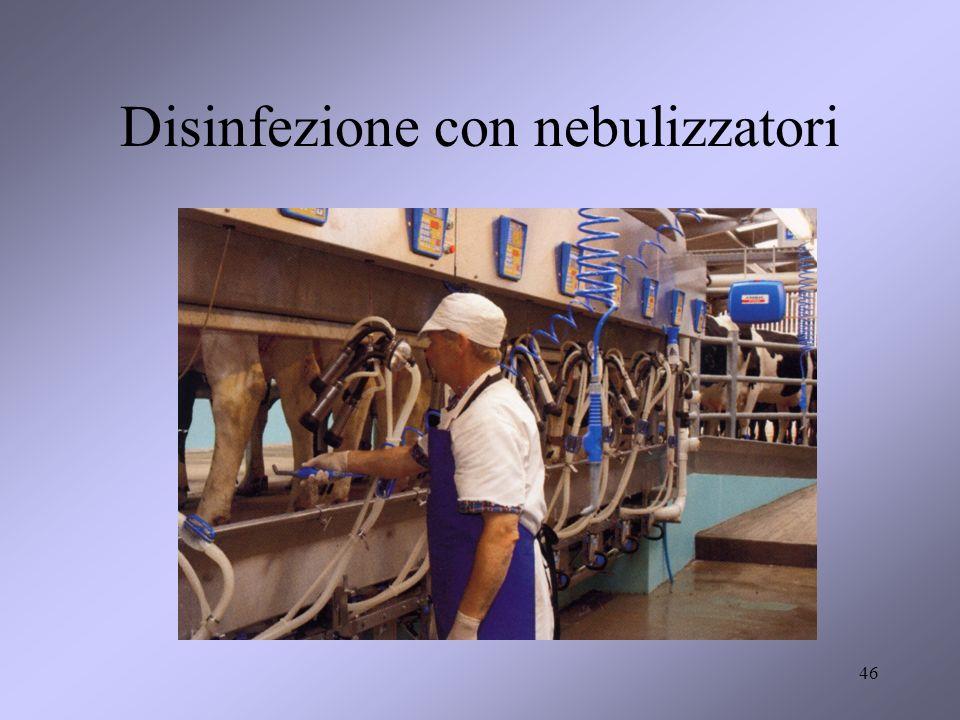 Disinfezione con nebulizzatori 46