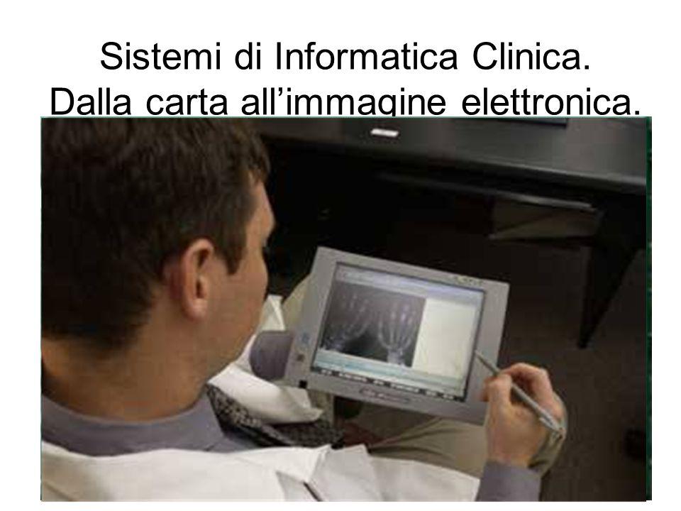 Sistemi di Informatica Clinica. Dalla carta allimmagine elettronica.