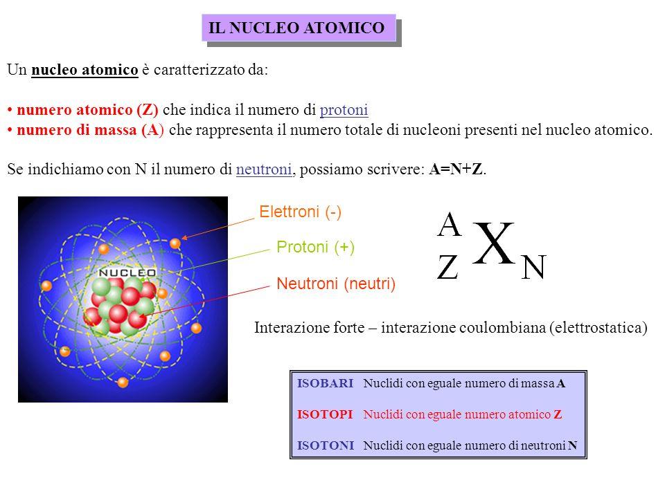FISSIONE NUCLEARE Distribuzione di massa dei frammenti di fissione: notare che è poco probabile la fissione del nucleo in due frammenti di massa uguale.