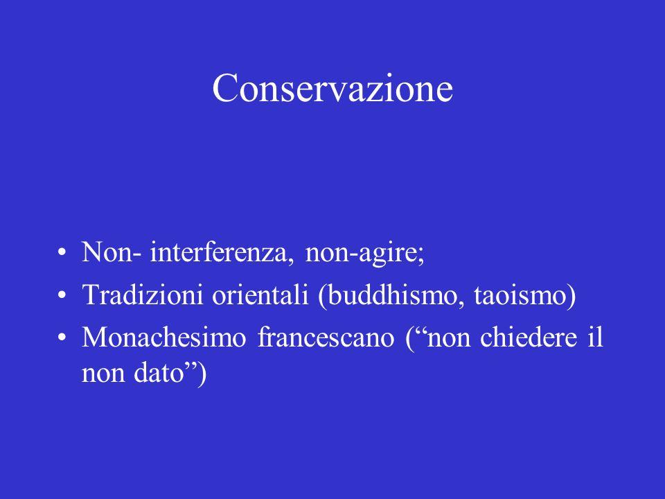 Piccolo è bello E.Schumacher, Mondadori, Milano 1978 (1973) Ideale di non-interferenza Piccoli sistemi hanno un impatto minore Monachesimi (oggi comunità ecologiche, ecotopie)