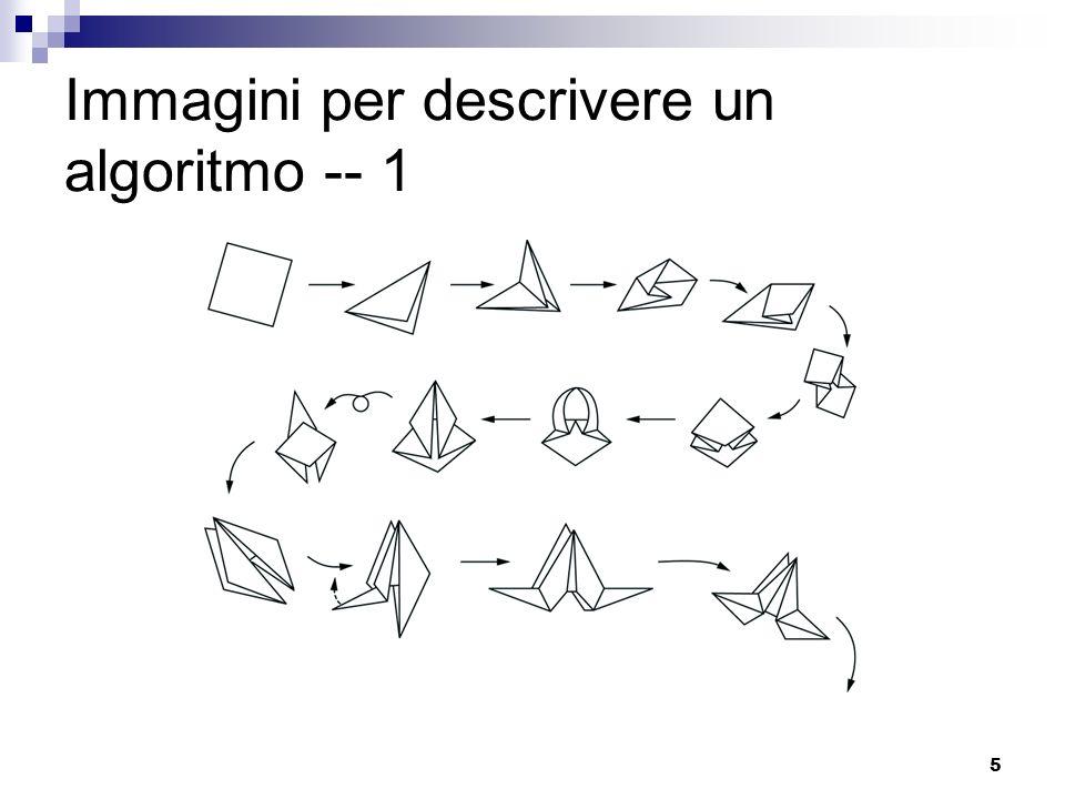 5 Immagini per descrivere un algoritmo -- 1