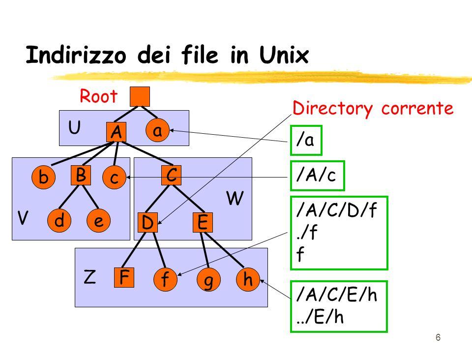 7 Operazioni su file zCreazione zApertura zChiusura zCancellazione zCopia zRinomina zVisualizzazione zLettura zScrittura zModifica z…