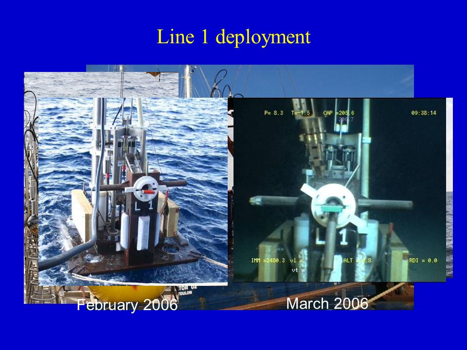 Line 1 deployment February 2006 March 2006
