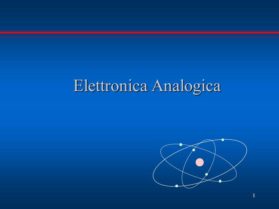 Elettronica Analogica Elettronica Analogica 1