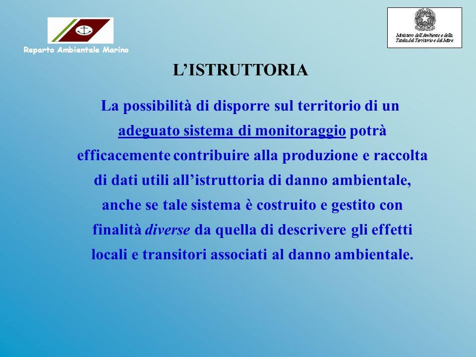 LISTRUTTORIA La possibilità di disporre sul territorio di un adeguato sistema di monitoraggio potrà efficacemente contribuire alla produzione e raccol