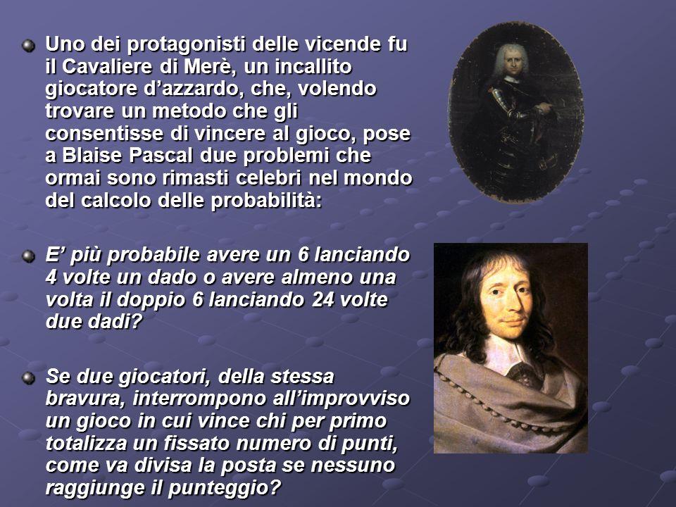 Definizione classica di probabilità: (detta a priori) -1812 Pierre Simon de Laplace: la probabilità è data dal rapporto tra I casi favorevoli allevent